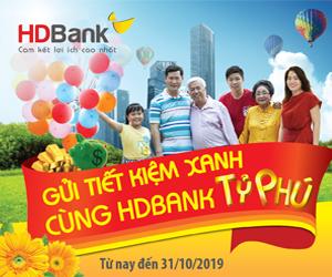 HDBank-Tiet kiem xanh