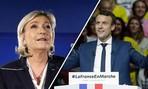 Ông Macron, bà Le Pen vào vòng hai bầu cử tổng thống Pháp