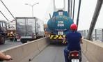 Sẽ xử lý nghiêm xe bồn chạy vào làn xe máy trên cầu Phú Mỹ