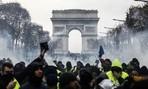 Loạt ảnh nước Pháp chìm trong 'cơn thịnh nộ' của người biểu tình