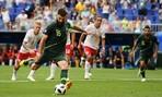 Hòa Đan Mạch, Úc đối diện nguy cơ chia tay World Cup