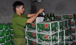 Công an đột kích ba kho hàng chứa bia và đường cát lậu