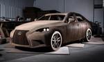 Chiếc Lexus làm bằng bìa các tông