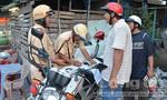 Tăng cường xử phạt công nhân vi phạm luật giao thông