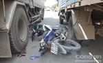 Đâm đuôi xe tải, nam thanh niên tử vong