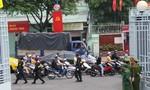 Hình ảnh công tác bảo vệ Đại hội Đại biểu Đảng bộ TPHCM lần thứ X