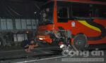 Tông trực diện xe khách đưa rước công nhân, một người tử vong