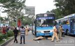 Xe buýt cán chết người ở cửa ngõ sân bay Tân Sơn Nhất