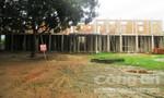 Thiếu vốn, trường học xây dựng dở dang