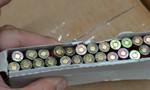 Tịch thu 144.000 viên đạn mã tử nhập khẩu trái phép