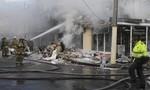 Máy bay rơi ở thủ đô Colombia: 5 người chết, 7 người bị thương