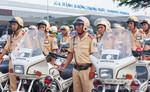 Triển khai công tác tuần tra, kiểm soát các tuyến đường xung quanh Cảng Hàng không quốc tế Tân Sơn Nhất