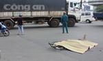 Băng ngang quốc lộ, một phụ nữ bị xe tải cán chết