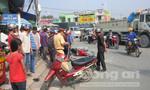 Một phụ nữ bị xe ben cán tử vong, tài xế trốn khỏi hiện trường