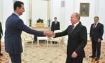 Tổng thống Syria bất ngờ viếng thăm Nga