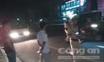 Đi bộ qua đường bị xe máy tông tử vong