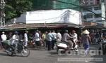 Đồng loạt tấn công các điểm buôn bán phụ tùng xe gian ở chợ Tân Thành