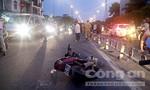 Xe máy tông dải phân cách, 2 người thương vong