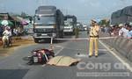 Nam thanh niên bị xe tải cán chết thảm trên quốc lộ 1A