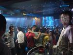 Kiểm tra bar Barốccô giữa trung tâm Sài Gòn, hàng trăm dân chơi tháo chạy