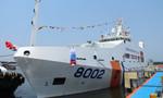 Cảnh sát biển vùng 2 tiếp nhận tàu CSB 8002 có công suất 12.000 mã lực
