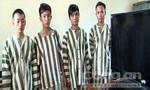 Nhóm thanh niên trộm đêm gây hoang mang cho người dân sa lưới