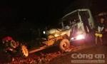 Xe tải bất ngờ 'trôi' thắng, 5 người bị thương nặng