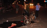 Xe máy tông trực diện xe tải, một người nguy kịch