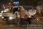 Người đàn ông nhập viện sau khi nhậu xỉn tông xe tải