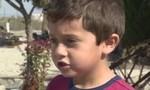 Bé trai 5 tuổi vận dụng bài học để cứu bà nội khỏi chết cháy