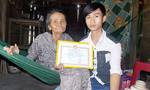 Chàng sinh viên mồ côi với ước mơ trở thành giáo viên