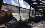 Cháy xưởng may, nhiều công nhân hốt hoảng