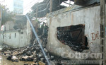 Xưởng dệt bốc cháy, 6 người thương vong.