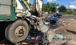 Clip tai nạn 4 người thương vong trên đường Hồ Chí Minh