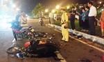 Hai xe máy tông nhau, 2 người bị thương nặng