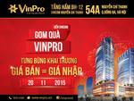 Mua hàng VinPro Nguyễn Chí Thanh, nghỉ dưỡng Vinpearl