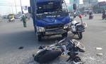 Tông trực diện xe tải trên xa lộ, người đàn ông nhập viện