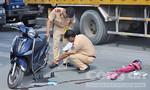 Xe máy va chạm xe bồn, cô gái trẻ thiệt mạng