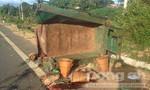Xe tải tông xe công nông, 5 người chết, 9 người bị thương