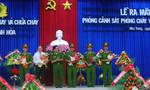 Khánh Hòa: Ra mắt phòng cảnh sát phòng cháy và chữa cháy số 1