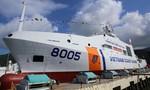 Tàu hiện đại bậc nhất của cảnh sát biển Việt Nam hạ thủy