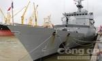 Tàu chiến hiện đại của Pháp cập cảng Tiên Sa