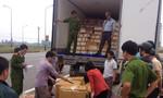 Bắt giữ xe tải chở 500kg nội tạng hôi thối
