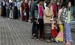 Myanmar bước vào tổng tuyển cử lịch sử
