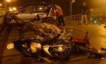Toàn cảnh vụ taxi tông hàng loạt xe máy, tài xế nhảy cầu tự tử