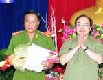 Đại tá Phạm Thành Sỹ giữ chức Giám đốc Công an tỉnh Cà Màu