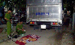 Xe tải tông xe đạp, bé gái 5 tuổi tử vong