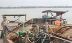 Bắt nhóm 'cát tặc' trên sông Đồng Nai