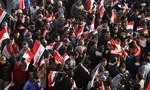 Hàng ngàn người Iraq biểu tình phản đối Thổ Nhĩ Kỳ đóng quân ở miền bắc