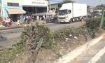 Xe tải mất thắng, tài xế lao xe vào nhà dân để tránh tai nạn